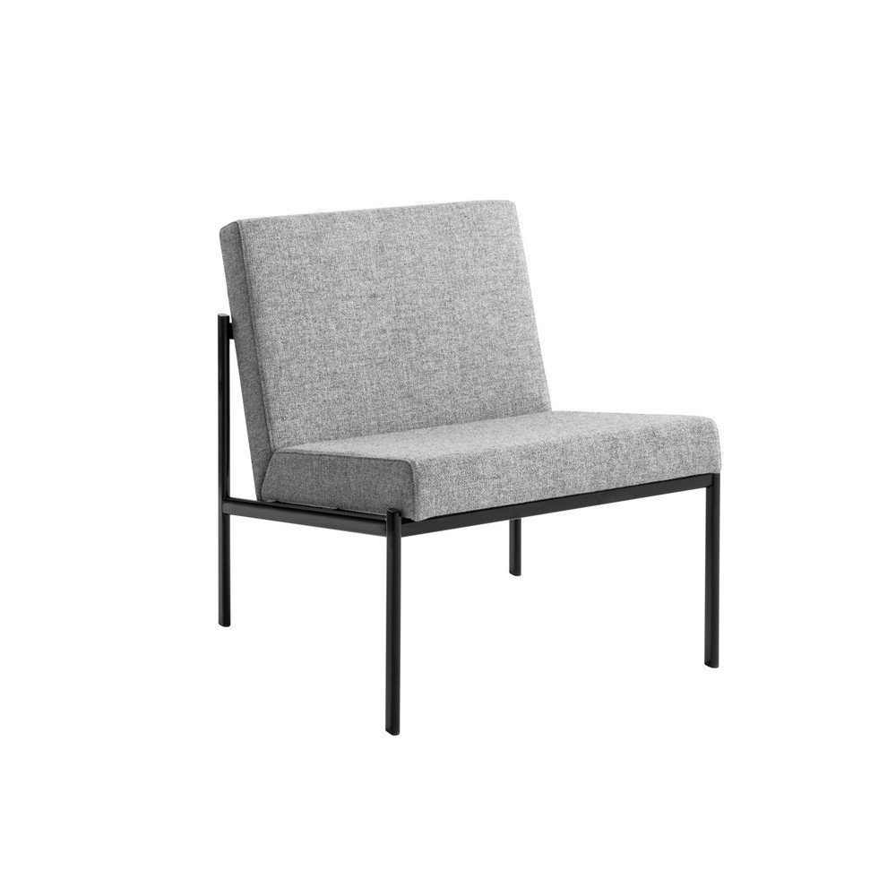 """Minimal yet plush, the Kiki Lounge Chair was designed by Ilmari Tapiovaara in 1960. With the Kiki collection, the legendary Finnish designer wanted to bring clean, modern design to a wider audience. This cozy chair offers luxurious comfort in a versatile design that lends contemporary elegance to existing decor.  Search """"berlin elevations architectural print black frame"""" from Sit Back and Relax: 8 Modern Lounge Chairs We Love"""