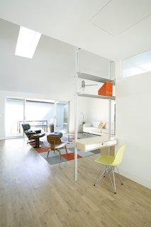 Designer Robert Sweet designed this renovation of a mid-century bungalow in Marina del Rey, California.