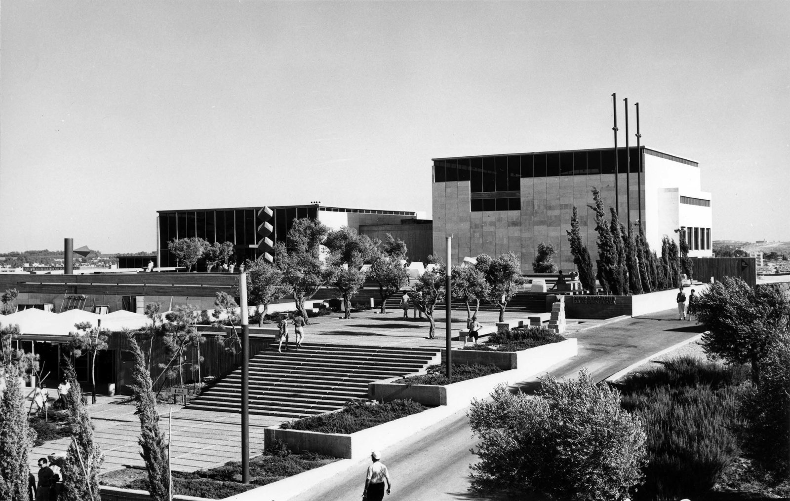 """In 1965, Israel was barely 17 years old,"" Snyder says. ""Teddy Kollek had barely become Jerusalem's mayor, and was determined to see it become a modern western capital like the great cultural capitals of Europe, and opening the Israel Museum that year was part of his vision.""  This is What Design Looked Like in Israel in 1965 by Allie Weiss from Best of #ModernMonday: What Makes a Building Iconic?"