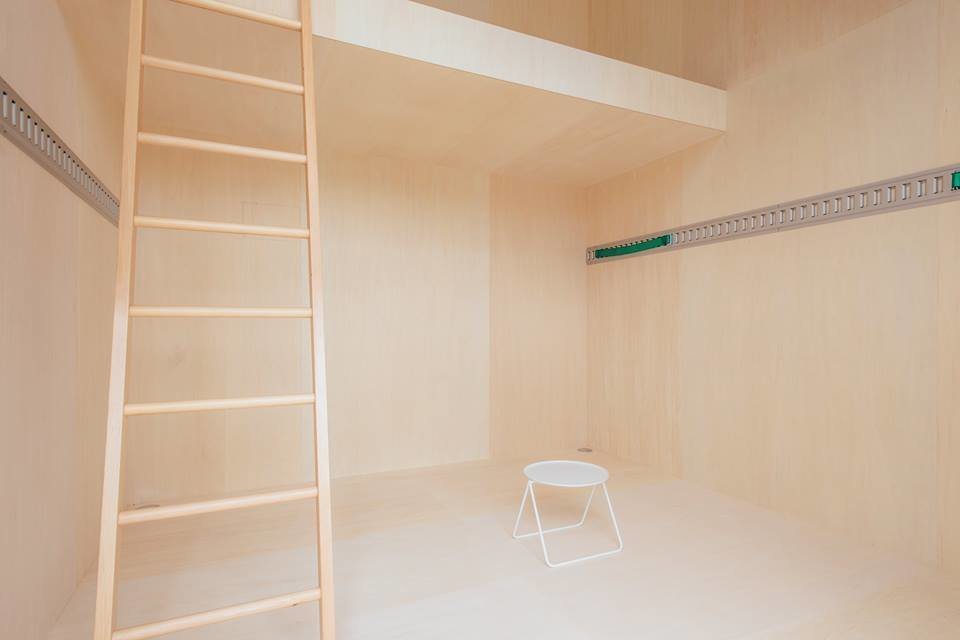 Inside, the spare, monastic wood interior includes a lofted space, suitable for a sleeping area. The open, tiny floor plan makes for a flexible, no-frills retreat.  Muji Hut Launches With 3 New Tiny Prefab Homes by Aileen Kwun