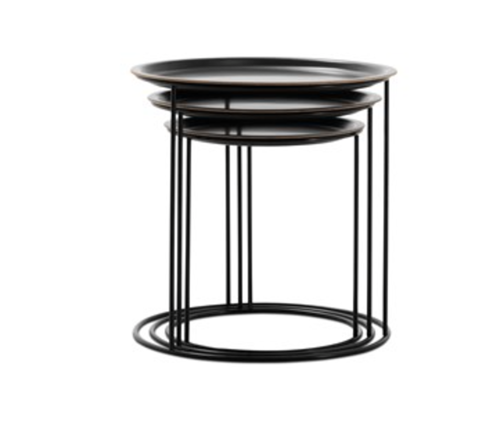"""Cartagena Nesting Tables by BoConcept, $539 from boconcept.com/en-us  This tiny trio from BoConcept offers the surface area of three tables for the footprint of one.  Search """"classic danish nesting tables set"""" from Furniture"""