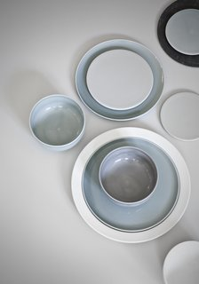 A closer look at the Norm Dinnerware collection.