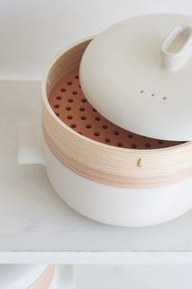 "This bamboo steamer available through Quitokeeto boasts a simple, yet unexpected silhouette. ""We only want to share items that spark joy,"" Swanson says. ""And for that to happen it's often a combination of care in production, design, usefulness, and charm."""