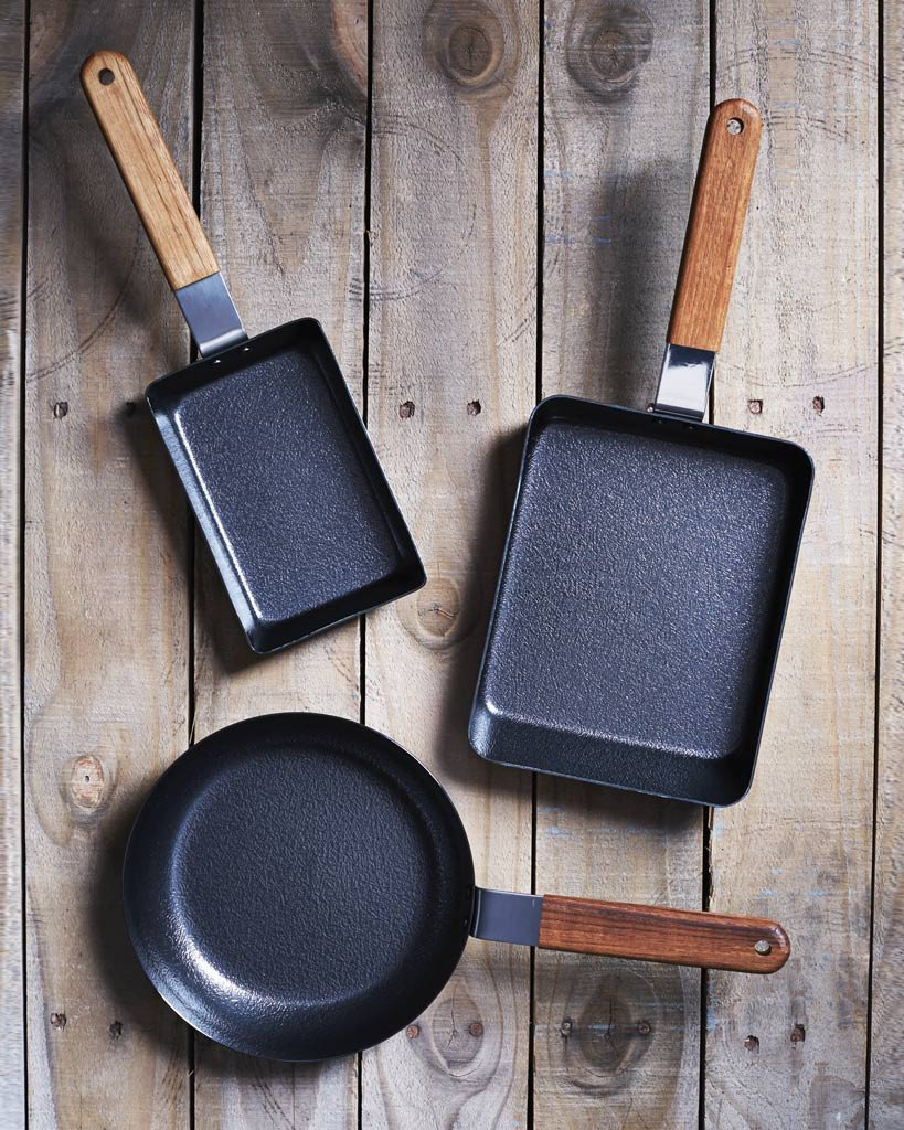 Tamagoyaki Omelet Pan by Koizumi Studio, from $52 at shop.nalatanalata.com  These iron vessels, designed by Makoto Koizumi in Tokyo, will help chefs master the delicate art of the breakfast omelet.  Editor's Picks: Classic Gifts for the Chef by Allie Weiss