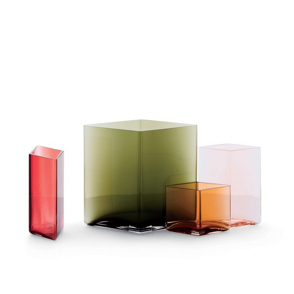 Iittala Ruutu Vase, from $95  Designed by Ronan and Erwan Bouroullec, each vase takes 24 hours to make by skilled craftsmen.
