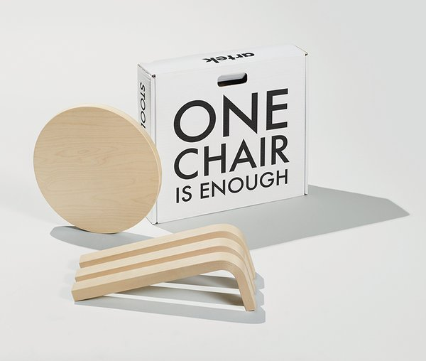 """The packaging can be seen as a vehicle of our values: functionality, sustainability, natural materials, aesthetics, ethics, and ecology.""—Marianne Goebl, global director of Artek"