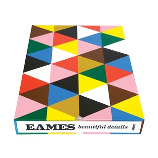 Eames: Beautiful Details by Eames Demetrios (Ammo Books, 2012).  A collector's item and visual celebration of the life and work of Charles and Ray Eames.