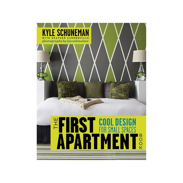 The First Apartment Book: Cool Design for Small Spaces by Kyle Schuneman and Heather Summerville (Potter Style, 2012).  This book offers tips on how to make the smallest rental space feel like a home.