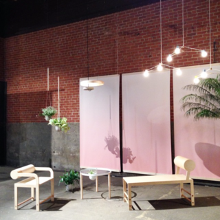 Intro/NY at @thedesignjunction featuring works by @brendanravenhill, @wrk_shp, @calicowallpaper, @shinamal, and more.