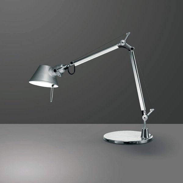 Tolomeo Micro Table Lamp, $238 at the Dwell Store through December 1, 2015  Designed by Michele De Lucchi and Giancarlo Fassina for Artemide, the Tolomeo family of table and task lamps adds brilliant lighting to your desk or reading area. The Tolomeo Micro Table Lamp is defined by its fully adjustable body, which enables you to set the lamp to different heights, depending on your lighting needs. The lamp also features a rotating shade, making it easy to redirect light as needed.  Regular price: $280
