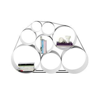 Nonconforming and psychedelic, these shelves from Muuto are customizable to redefine your space.