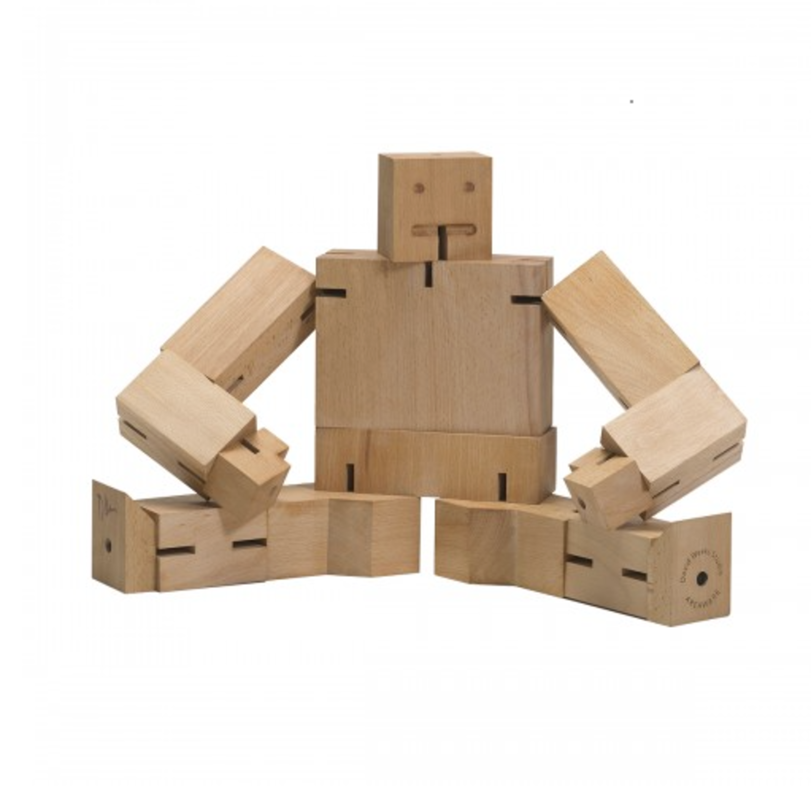 Designer David Weeks reimagines the toy robot without using of plastic or battery power. Cubebot's durable hardwood frame was inspired by Japanese Shinto Kumi-K puzzles, and can endure generations of play.  Absolutely Adorable Toys for Kids by Luke Hopping