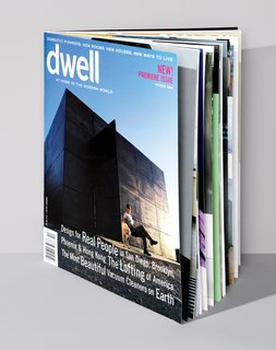 Dwell's first issue from October 2000.