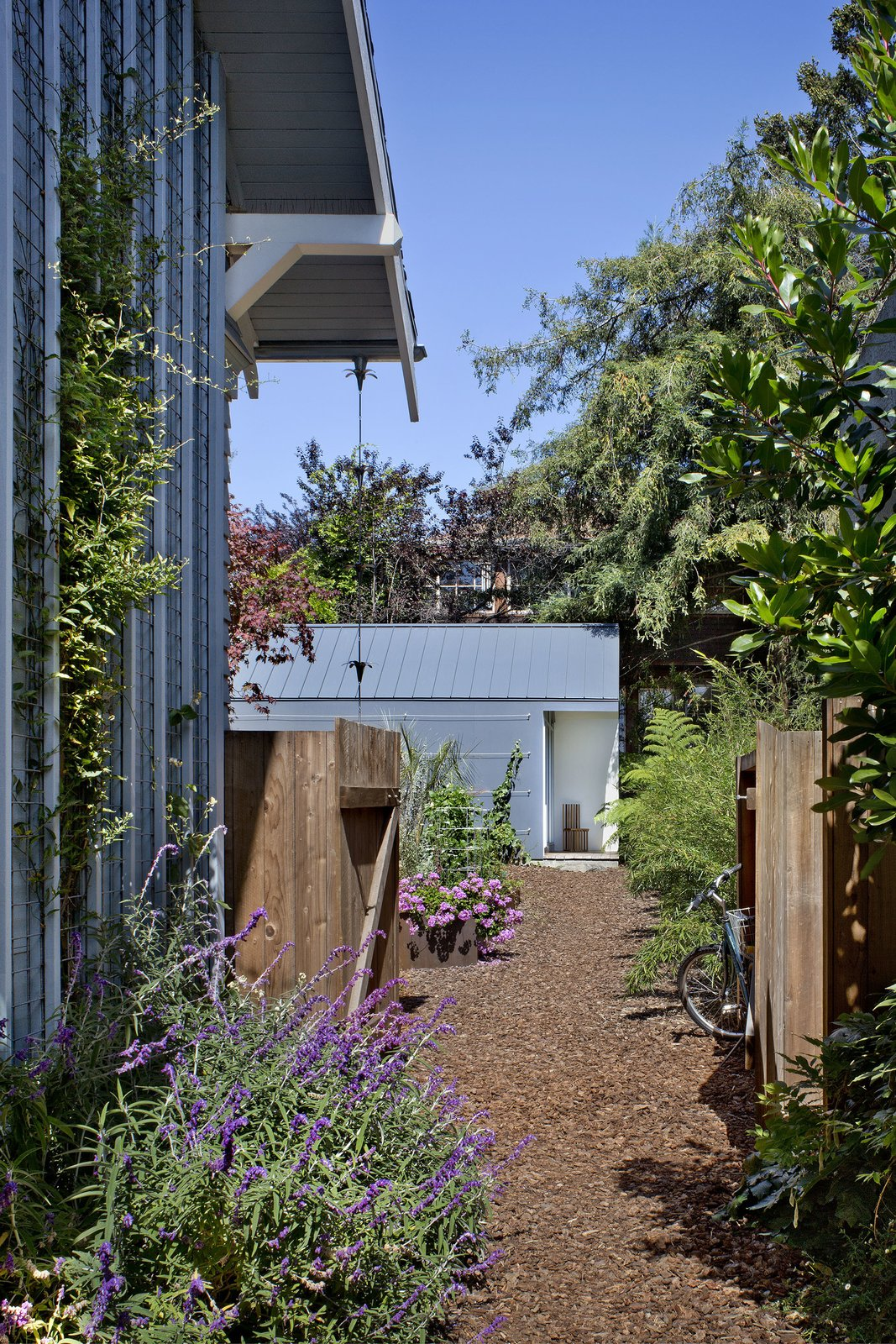 A Dilapidated Garage Transformed Into a Small Modern Cottage