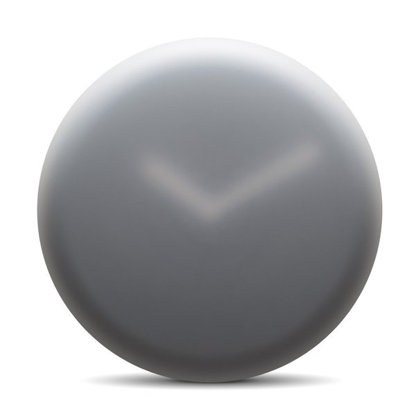 Blurred images inspired designer Ivan Kasner to create the Hazy Wall Clock; its translucent covering uniquely gives the appearance of frosted or foggy glass.