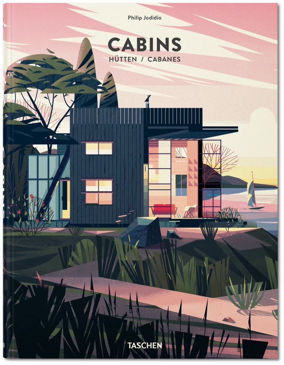 Philip Jodidio's Cabins (Taschen, November 2014) chronicles how architects have explored the concept of a minimal, low-impact, and isolated abode. The book features photographs, illustrations, and text detailing projects from around the world.  Cabin