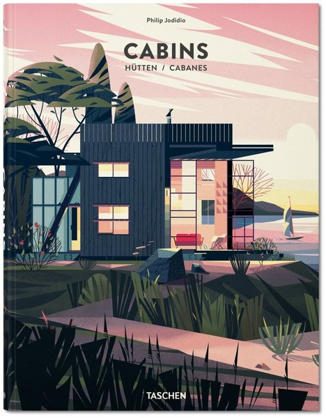Philip Jodidio's Cabins (Taschen, November 2014) chronicles how architects have explored the concept of a minimal, low-impact, and isolated abode. The book features photographs, illustrations, and text detailing projects from around the world.  Cabin from Stunning Modern Cabins and Hideouts in a New Book