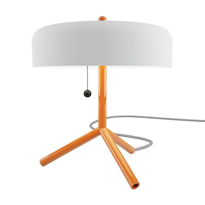 """F/K/A table lamp by Jonah Takagi for Matter-Made, $1,410  Not everything in life has to be practical. F/K/A's seven saturated color combinations render it as much of an art object as it is a task light.  Search """"f k a table lamp"""" from Editors' Essentials: 5 Foolproof Table Lamps"""