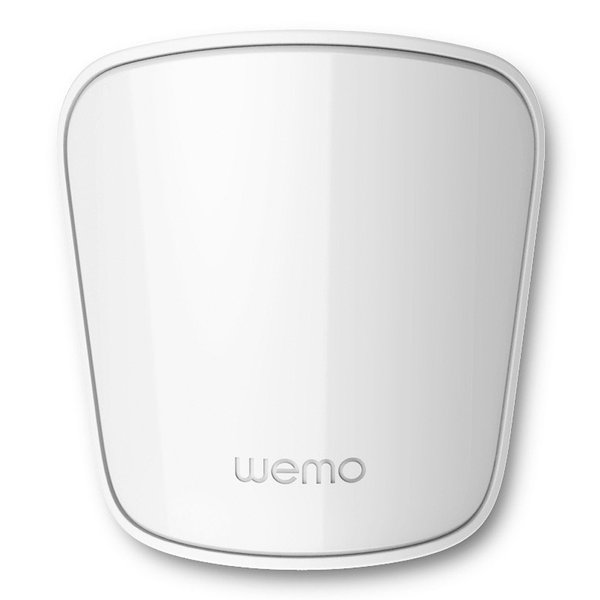 More accurate than a motion detector, the WeMo Room Sensor detects heat to see if someone enters a space. Program this to work with smart bulbs to automatically shut off lights if you leave a room, or turn them on if you enter.