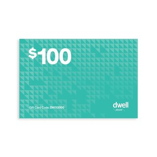 Dwell Store Gift Card, $50–$1,000 at the Dwell Store  Always in stock, the Digital Gift Card from the Dwell Store lets you give the design seeker on your list the gift of discovering great design. Perfect for that person who has everything (or likes to shop for herself), this gift will save you time and still keep your status as a thoughtful gift-giver.