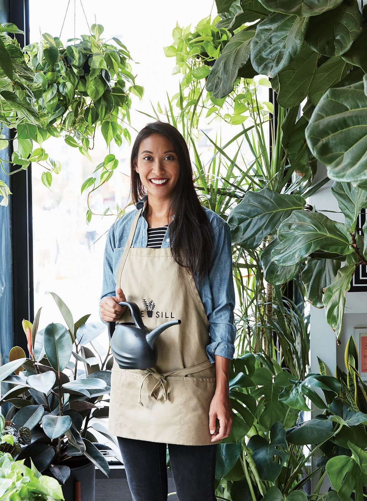 """I want to see more Sill stores,"" says Blank (seen here), who was inspired to create her own line of planters after being disappointed with the lack of functional, design-forward options on the market.  Photo 5 of 6 in The Store That's Changing How City-Dwellers Buy Plants"