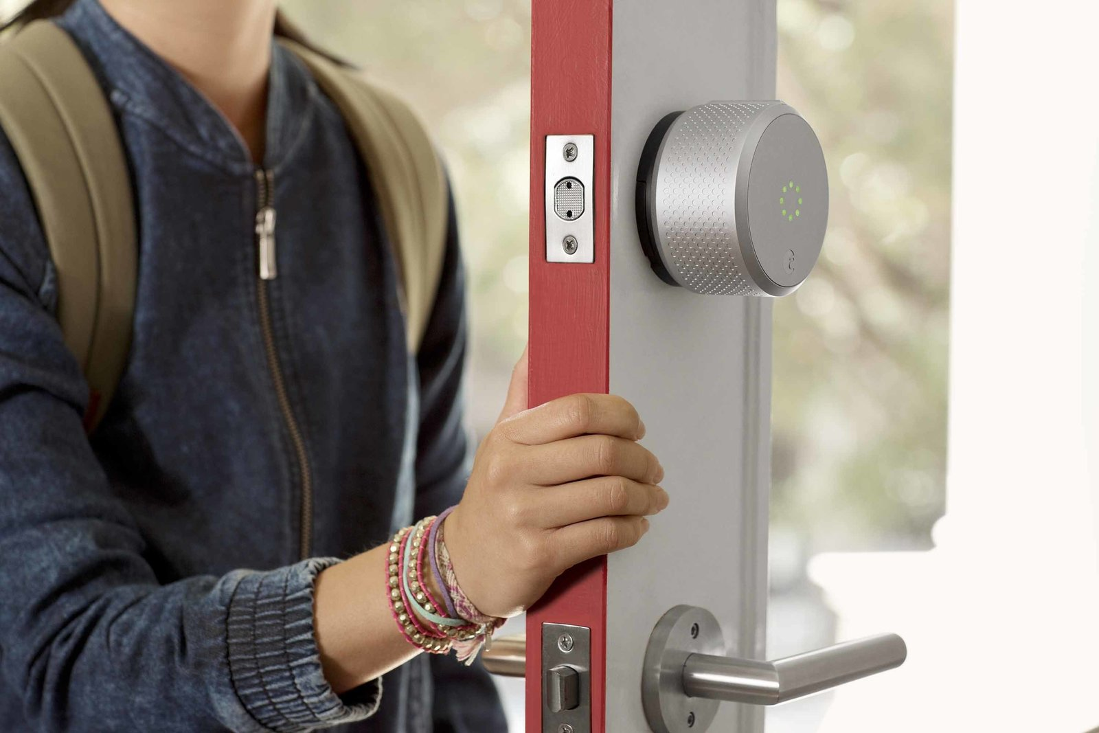 Tech enthusiasts will recognize August Smart Lock as the DIY security device that allows homeowners to create virtual keys for guests to come and go. Design seekers will notice the second-generation lock, soon to ship, has a more tactile, intuitive form profile that resembles a traditional knob. The latest model is also Apple Homekit enabled.  Buzz-Worthy Smart Home Innovations Coming Out of CES 2016 by Luke Hopping