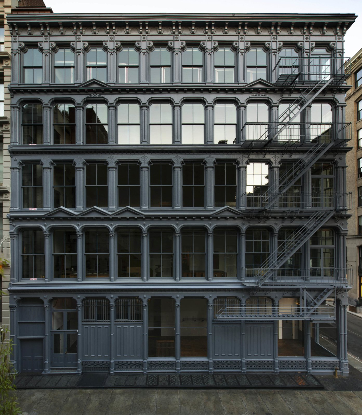The Donald Judd Home and Studio in SoHo, which recently reopened following a resotration by Architecture Research Office and Walter B. Melvin Architects, will be the Building of the Day on October 20.  buildings from Archtober: A Monthlong Celebration of Design and Architecture Returns to New York City