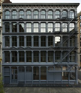 The Donald Judd Home and Studio in SoHo, which recently reopened following a restoration by Architecture Research Office and Walter B. Melvin Architects.