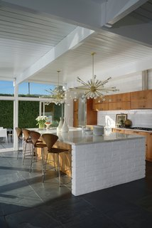 The kitchen of the La Casa di Ucello Bianca. As architect Ron Radziner says in the book's forward, Chavkin's color photogrpahy captures the light so essential to experiencing the West Coast's desert modernism.