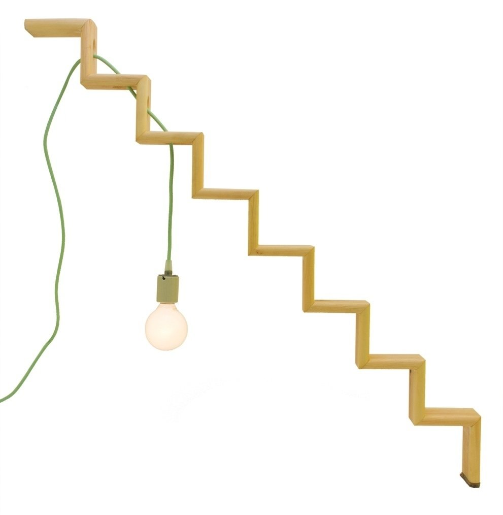 Nick DeMarco's Step Lamp takes cues from architecture.  My Photos from These Lamps Blur the Line Between Art and Object