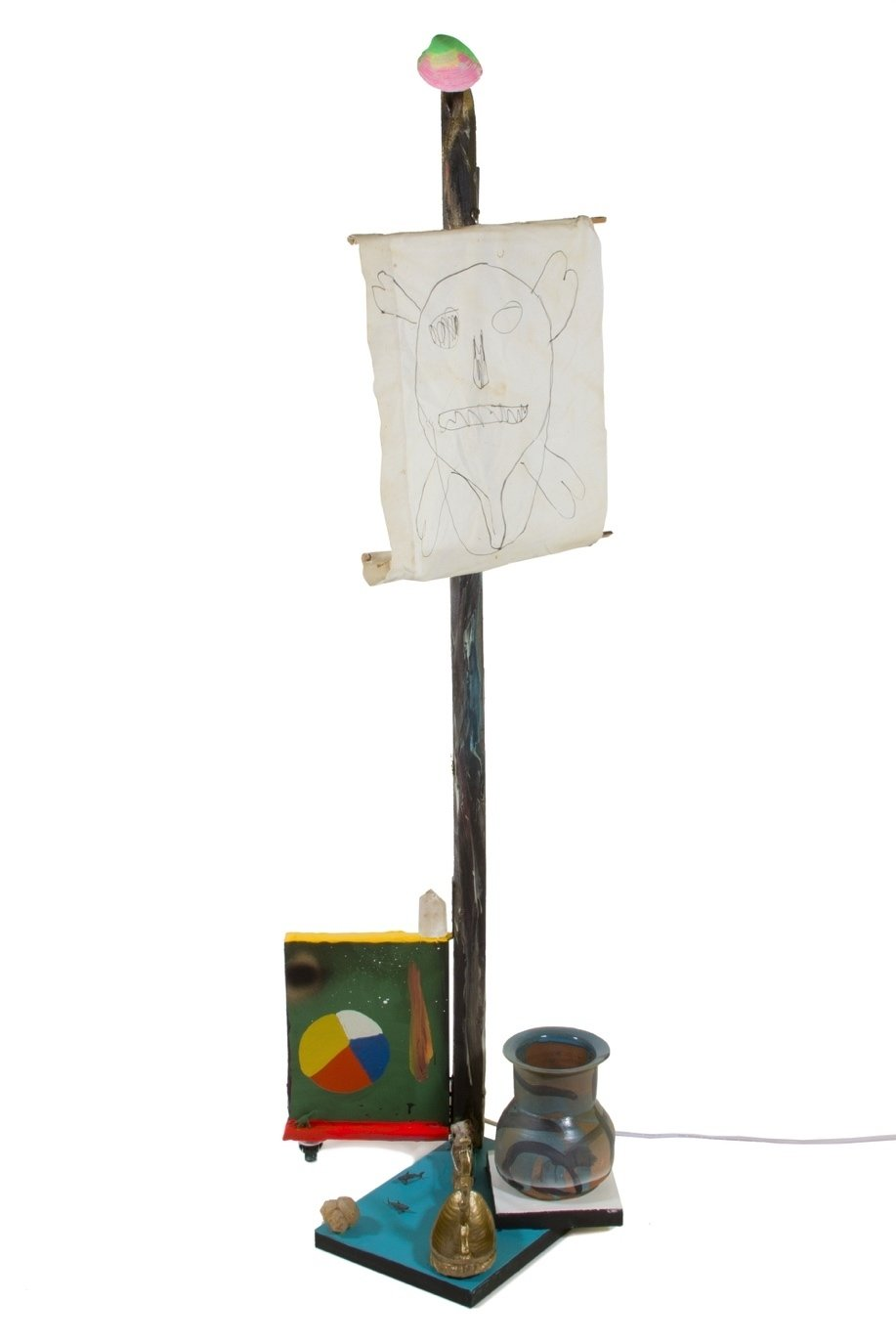Neptune's Temper by Paul Wackers is a standing sculpture assemblage.  Photo 10 of 10 in These Lamps Blur the Line Between Art and Object