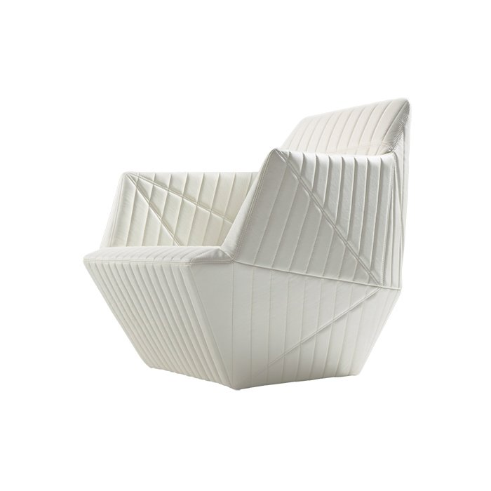 Facett armchair by Ronan and Erwan Bouroullec for Ligne Roset, from $2,810  No home is complete without a piece by the prolific French brothers. We nominate this trim, origami-inspired armchair.  Photo 2 of 5 in Editors' Essentials: 5 Excellent Easy Chairs