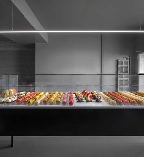All of the pastries are produced in-house.