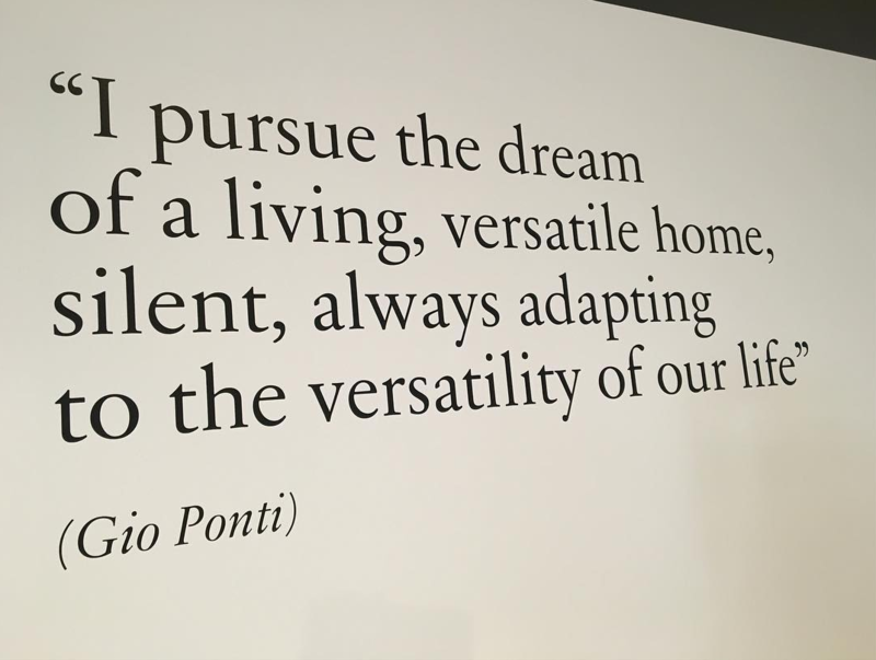 A little inspiration from Gio Ponti.
