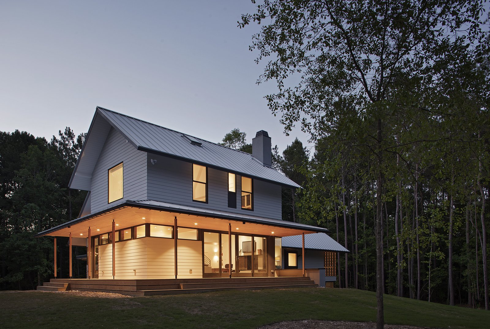 The Farmhouse Modern Home In North Carolina By In Situ