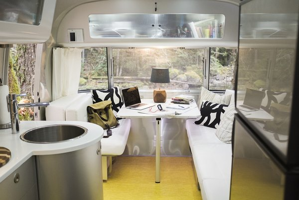 """In short, """"turning the trailer into a smart home has also eliminated a lot of potential stress."""" Air cards connect the trailer to the internet via cellular networks, so Pendl can monitor it from anywhere."""