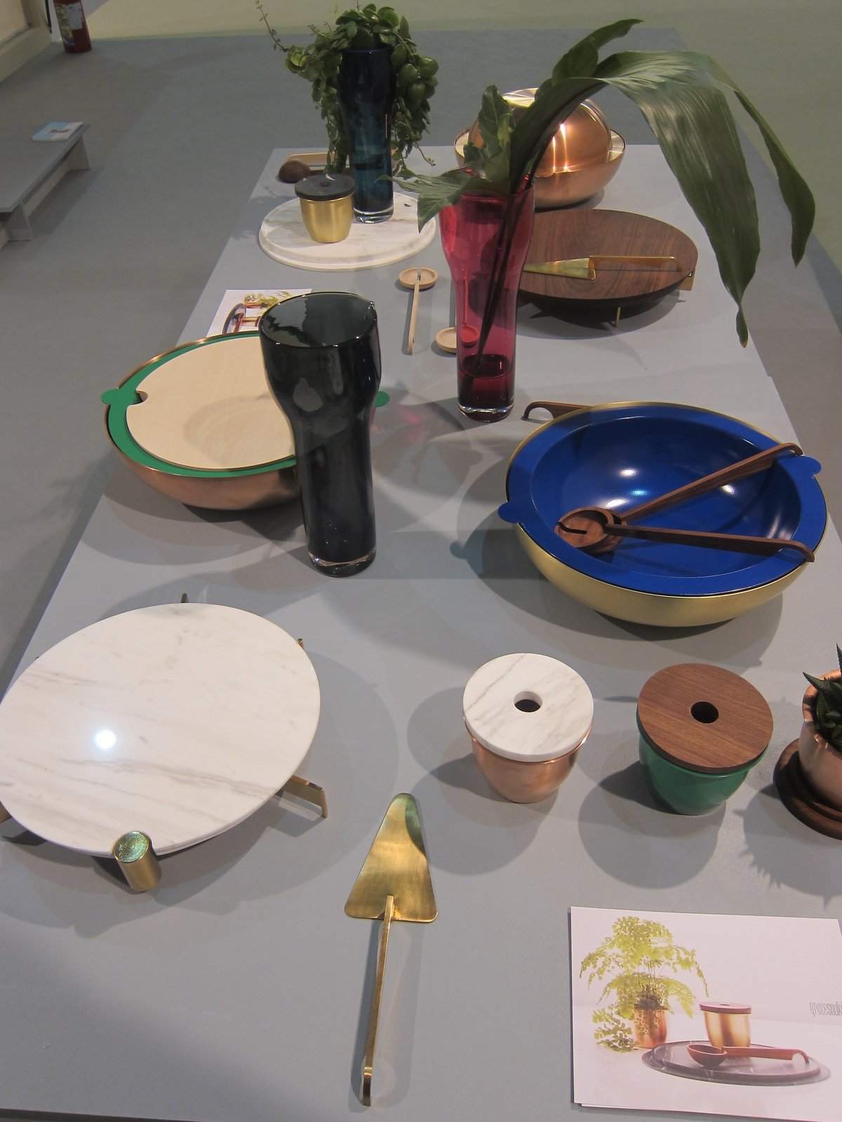Grace Souky's elegant mix-and-match tabletop collection is divided into three categories: surfaces, tools, and containers.  What's Next in Design: Highlights from Salone Satellite's Emerging Designers by Heather Corcoran