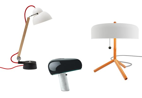 We field a lot of product queries at Dwell—and often, it's the simplest items that cause the most shopping anxiety. Need to light up a table or desk? Let these editor-approved lamps guide you.