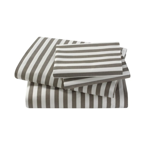 Draper Stripe Sheet Set by Dwell Studio, $209 from dwellstudio.com