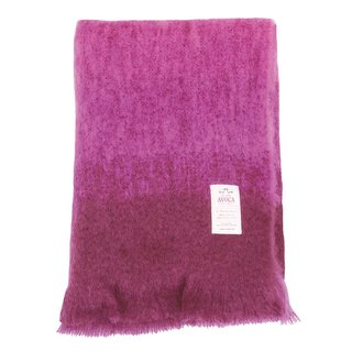 Woven by hand from wool and mohair, the Ombre Throw is made at Avoca, a nearly three-hundred-year-old Irish mill. Both lightweight and warm, the throw features a gradient color pattern that will add rich visual texture to a chair, sofa, or even on the foot of the bed. This blanket is an inviting gift, perfect for warming up in chilly winter months.