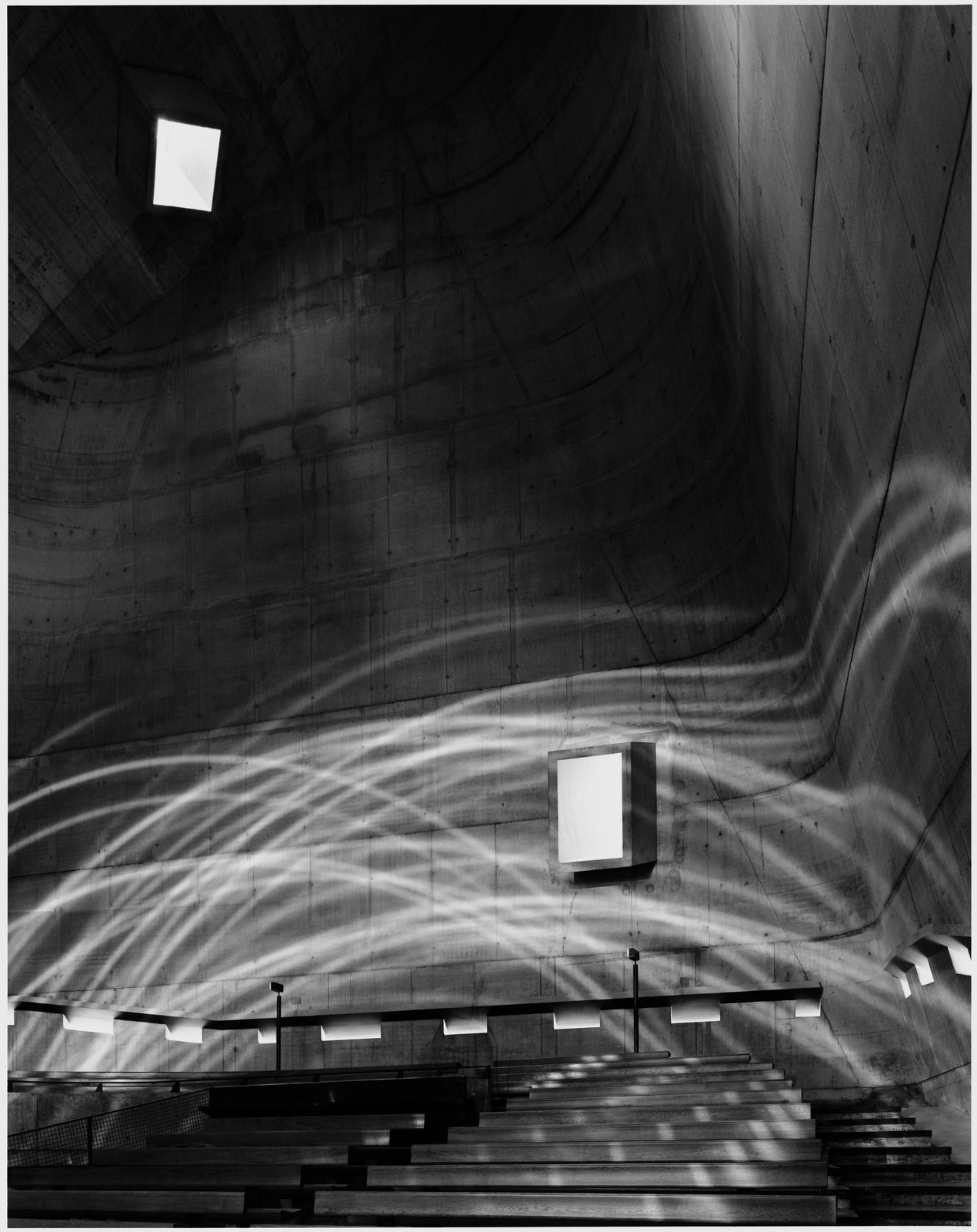 Firminy C, Le Corbusier, 2007, silver gelatin print.  Photo 2 of 8 in A New Los Angeles Exhibition Celebrates the Architectural Photography of Hélène Binet