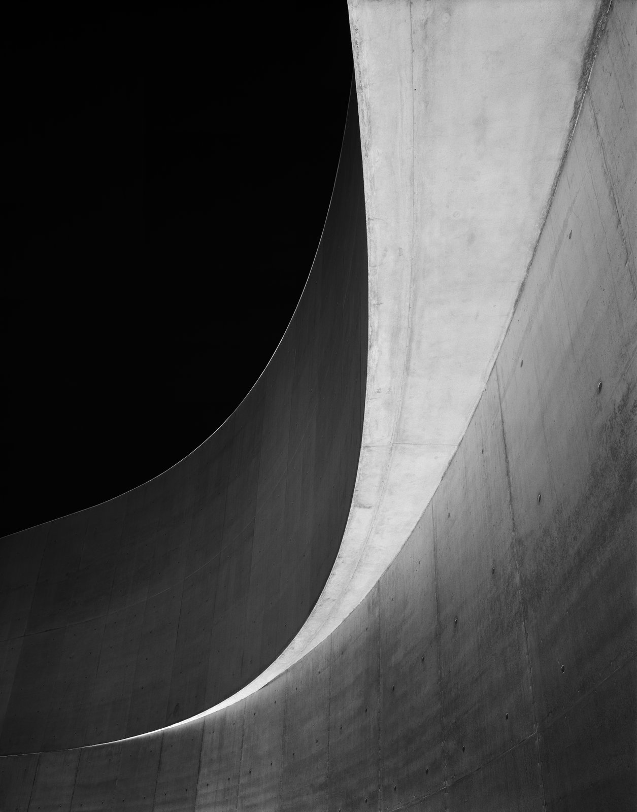 Maxxi Diptychon, Zaha Hadid, 2009, silver gelatin print.  Photo 7 of 8 in A New Los Angeles Exhibition Celebrates the Architectural Photography of Hélène Binet