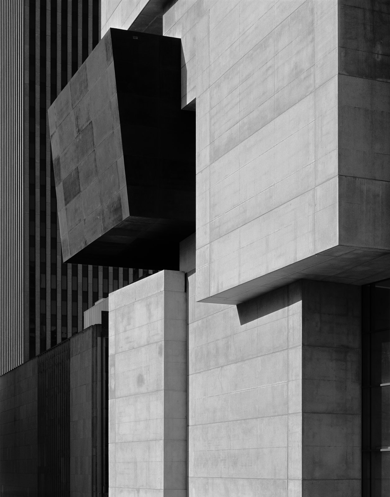 Rosenthal Center for Art, Zaha Hadid, 2003, silver gelatin print.  Photo 8 of 8 in A New Los Angeles Exhibition Celebrates the Architectural Photography of Hélène Binet