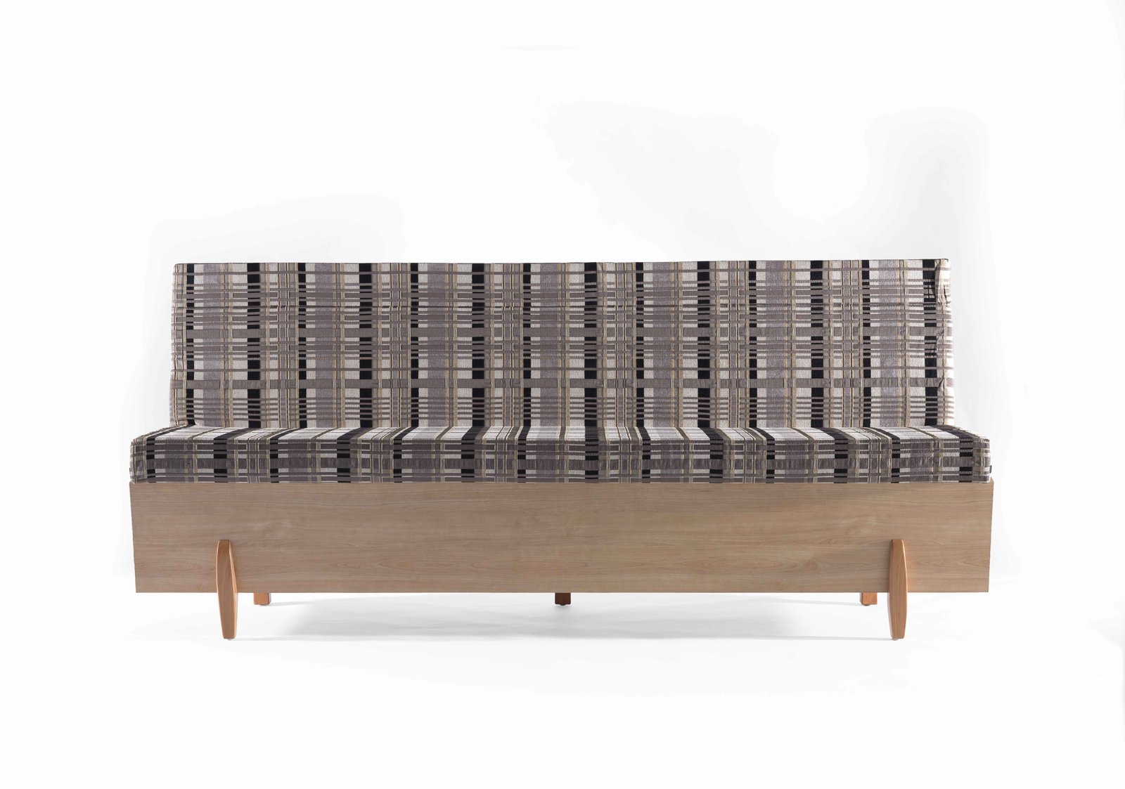 """The Safsalit was invented by a Jewish immigrant from Romania named Moshe Pitaro, who worked as an upholsterer,"" says Snyder. ""In 1962, he created his very first design: an intelligent and innovative sofa that could be converted into a bed, which responded to the practical needs of apartment life in Israel, where everyone lived in very modest quarters, with only fewer than 10% of all apartments having more than four rooms.""  This is What Design Looked Like in Israel in 1965 by Allie Weiss"