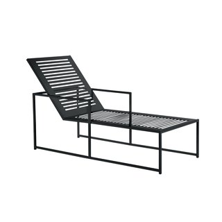 Cruz chaise by Room & Board, $529  Made in Minnesota and powder-coated in graphite, this sun lounger is the workhorse of outside furniture: It goes with everything.