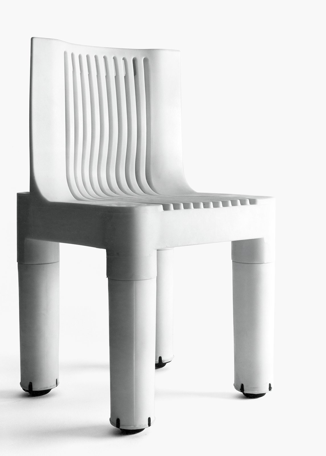 K 1340, Polyethylene children's chair designed by Marco Zanuso, Kartell, 1964.  Photo 3 of 7 in Only Richard Sapper Could Turn the Hairdryer Into a Masterpiece