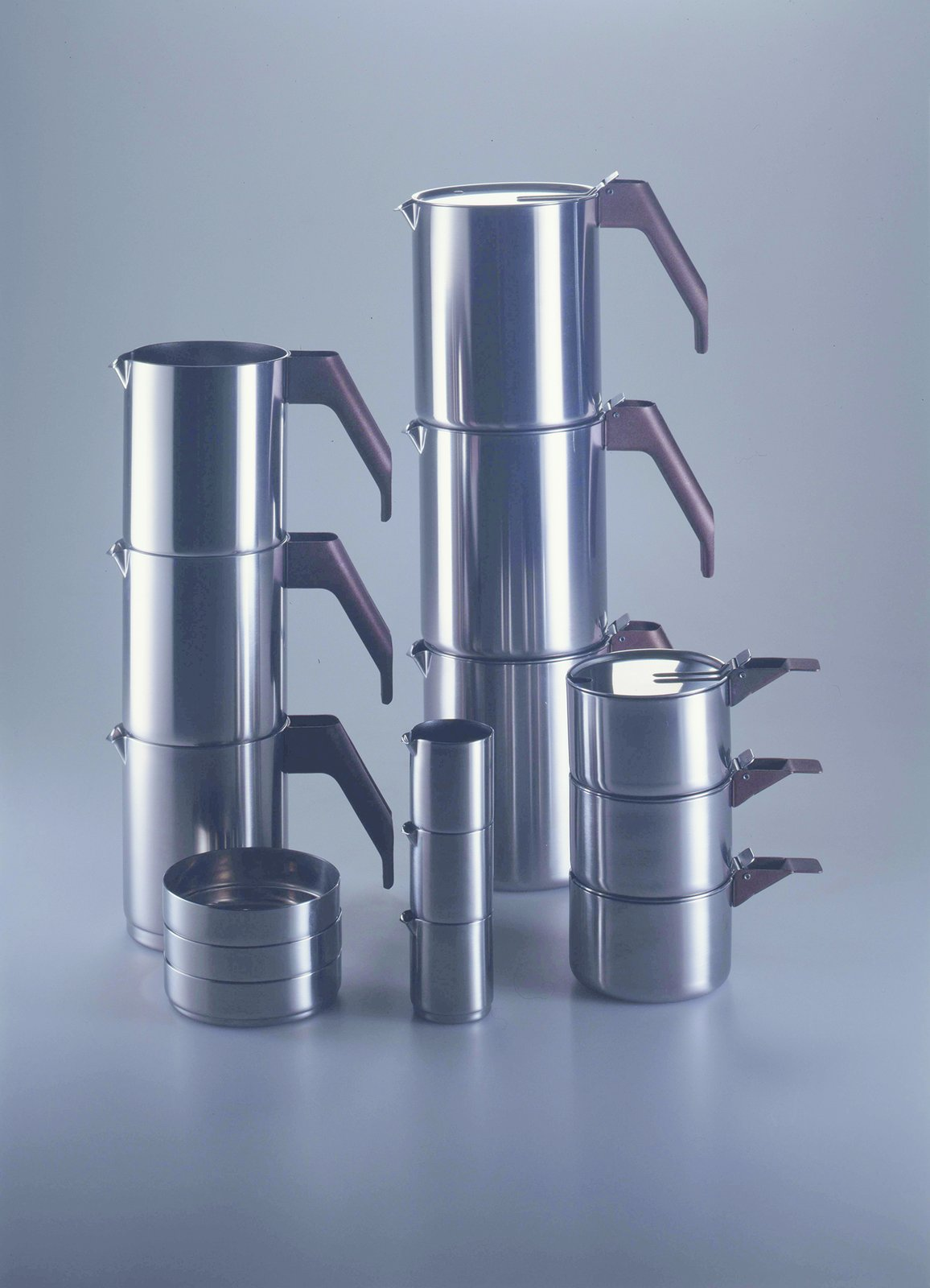 4060, Coffee and tea set, Alessi, 1982.  Photo 4 of 7 in Only Richard Sapper Could Turn the Hairdryer Into a Masterpiece