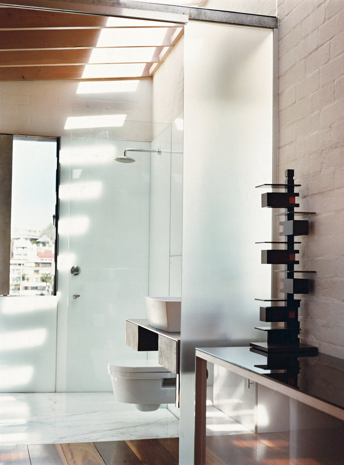 #bath #spa #bath&spa #modern #interior #interiordesign #bathroom #toilet #sink #bathroom #shower #indoor #skylights #catalano # tonkinzulaikhagreerarchitects  Photo by Roger D'Souza   Photo 16 of 22 in Bath & Spa Intrigue from Bathroom