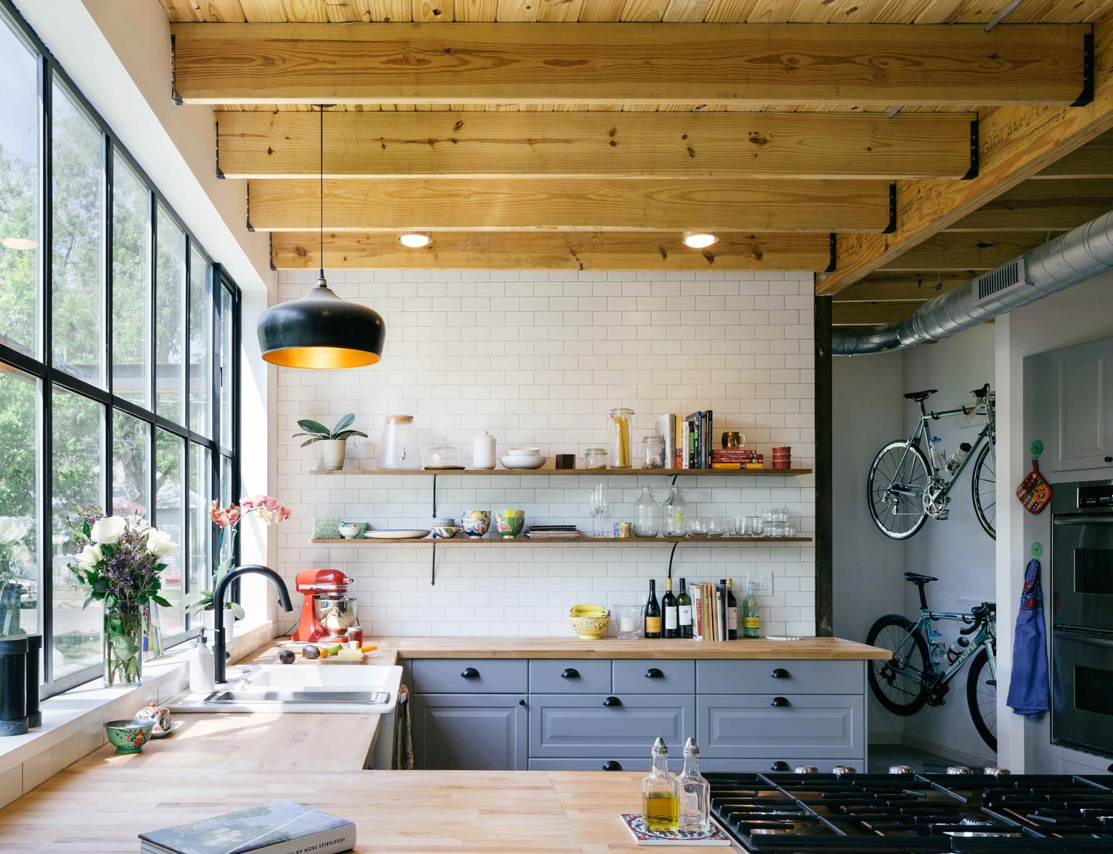 #kitchens #modern #midcentury #inside #interior #indoors #structure #form #appliances #living #space #color #windows #lighting #Austin  60+ Modern Lighting Solutions by Dwell from kitchen ideas