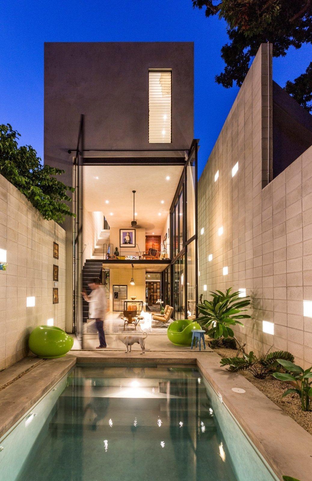 #pool #pooldesign #outdoor #exterior #modern #modernarchitecture #minimal #narrow #Mérida #Mexico #TallerEstiloArquitectura   Backyard Daydream from Small Pool Ideas
